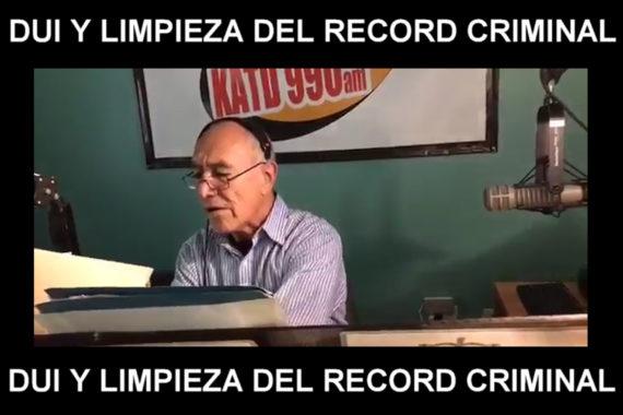 DUI Y LIMPIEZA DEL RECORD CRIMINAL