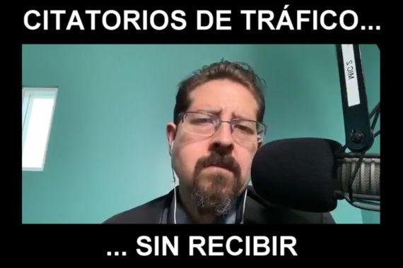 Citatorios De Tráfico Sin Recibir
