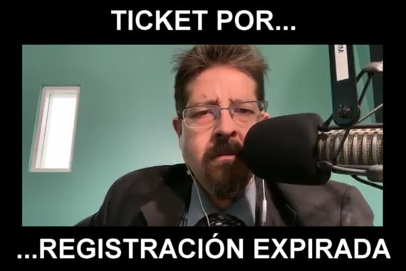 Ticket por registración expirada